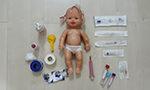 Brinquedos terapêuticos ajudam crianças a enfrentar o medo e a dor da punção venosa